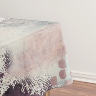 Soft Touch Painterly Table Cloth
