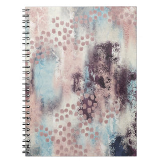 Soft Touch Spiral Notebook