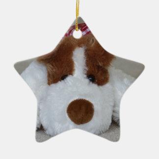 Soft Toy Puppy Ceramic Ornament