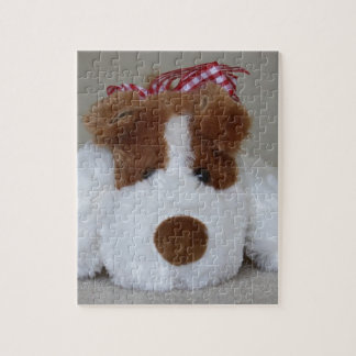 Soft Toy Puppy Jigsaw Puzzle