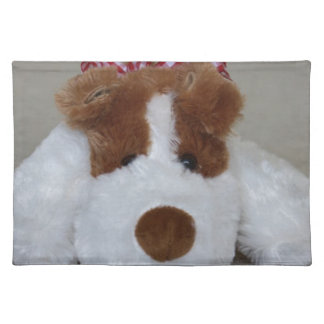 Soft Toy Puppy Placemat