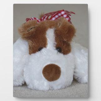 Soft Toy Puppy Plaque