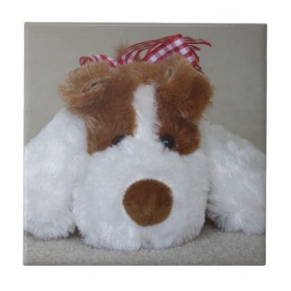 Soft Toy Puppy Tile