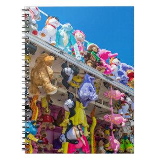 Soft toys notebook