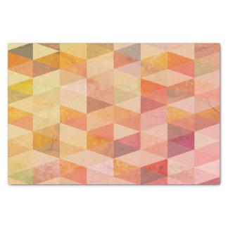 Soft Triangle Geometric Pattern Tissue Paper