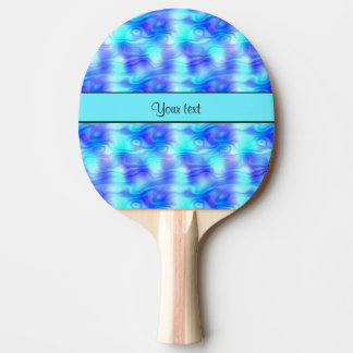 Soft Tropical Swirls Ping Pong Paddle
