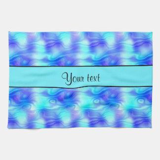 Soft Tropical Swirls Towel