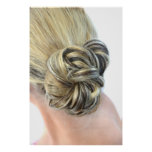 Soft Updo Poster