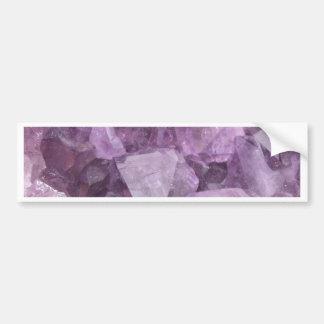 Soft Violet Amethyst Bumper Sticker