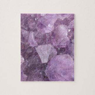 Soft Violet Amethyst Jigsaw Puzzle