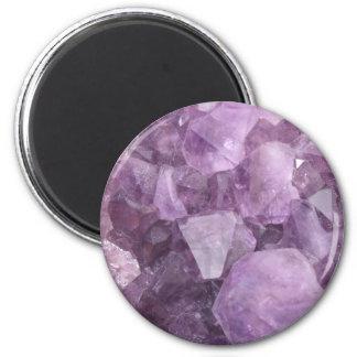 Soft Violet Amethyst Magnet