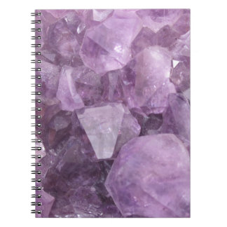 Soft Violet Amethyst Notebook