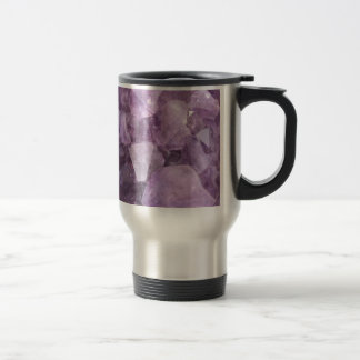 Soft Violet Amethyst Travel Mug