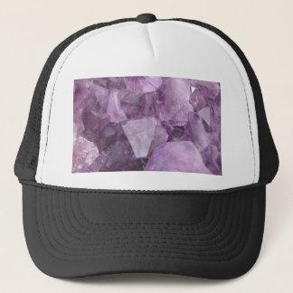 Soft Violet Amethyst Trucker Hat