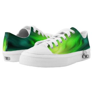 Soft Waves batik pattern - green + your ideas
