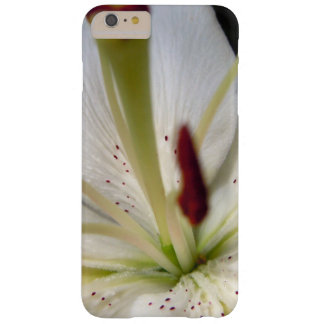 Soft White Lily Up Close Barely There iPhone 6 Plus Case