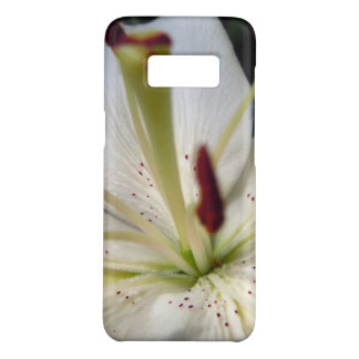Soft White Lily Up Close Case-Mate Samsung Galaxy S8 Case