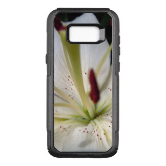 Soft White Lily Up Close OtterBox Commuter Samsung Galaxy S8+ Case