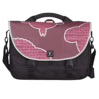Soft wooly wink sheep laptop bags