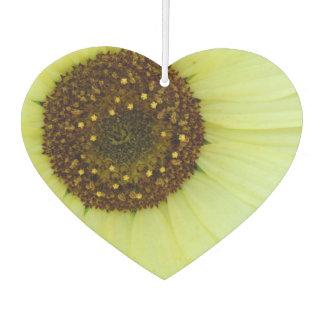 Soft Yellow Sunflower Car Air Freshener