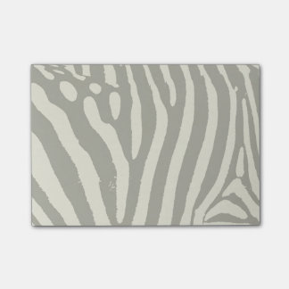 Soft Zebra Print Modern Contemporary Post-it Notes