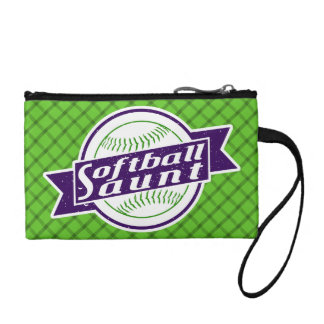 Softball Aunt Purse Bag