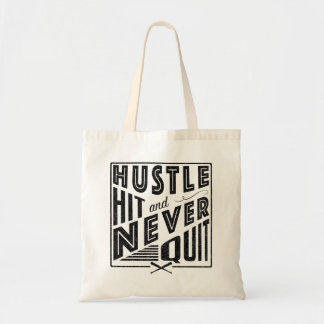 Softball Baseball Quote Tote Bag