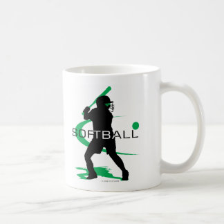 Softball - Batter Coffee Mugs