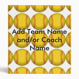 Softball Binder