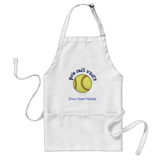 Softball-Blue Standard Apron