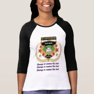 Softball Champion Front-Back T-Shirt