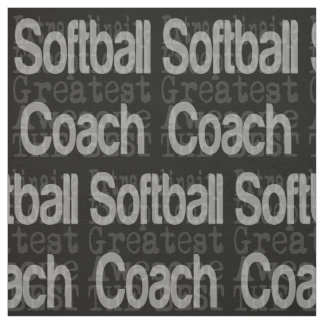 Softball Coach Extraordinaire Fabric