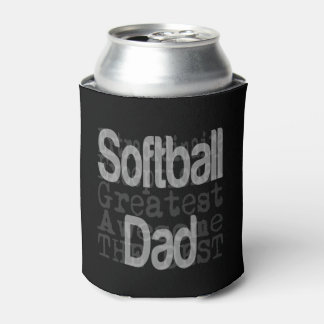 Softball Dad Extraordinaire Can Cooler