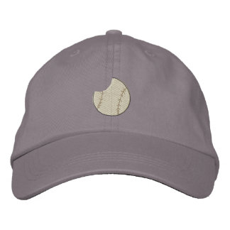 Softball Embroidered Baseball Cap
