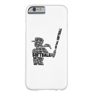Softball Fan Softball Mom Youth Kid Barely There iPhone 6 Case