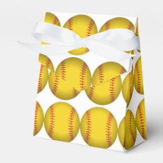 Softball Favor Boxes