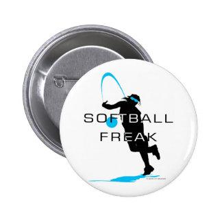 Softball freak - Pitcher front Buttons