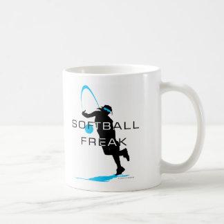 Softball freak - Pitcher front Coffee Mugs