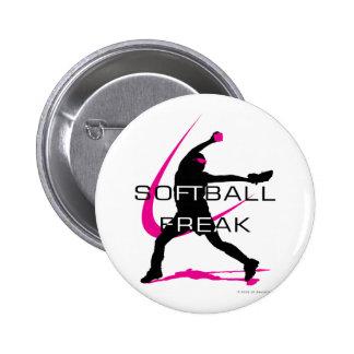Softball Freak - Pitcher side Pin