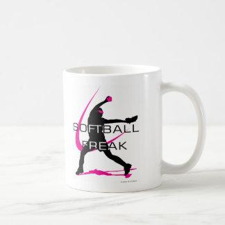 Softball Freak - Pitcher side Coffee Mugs