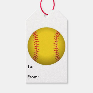 Softball Gift Tag Pack Of Gift Tags
