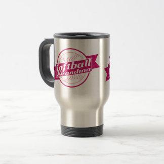 Softball Grandma Travel Cup