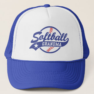 Softball Grandma Trucker Hat