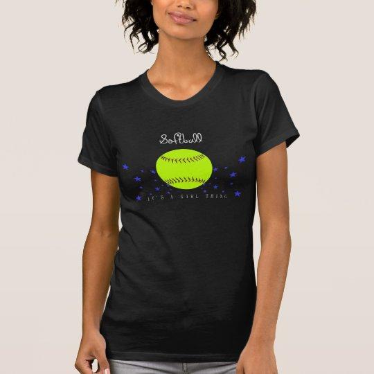 Softball Graphic Shirt