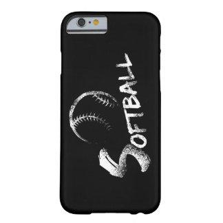 Softball Grunge Design iphone 6 dark case