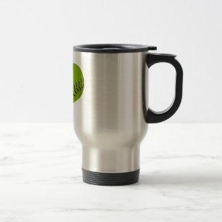 Softball Heart Travel mug