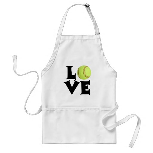 Softball Love Apron