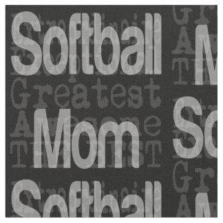 Softball Mom Extraordinaire Fabric