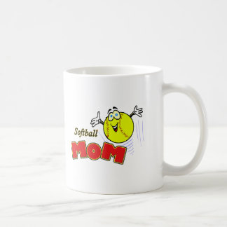 Softball Mom II Classic White Coffee Mug
