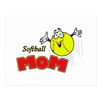 Softball Mom II Postcard